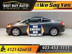 2012 Honda Civic Ex-L Coupe 5-Spd AT W/ NAV $89/Bi-weekly
