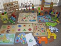 Bundle of Wooden Toys
