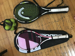 2 Rackets for sale