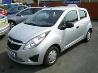 2012 CHEVROLET SPARK 1.0i + 5 DOOR GBP30 TAX NICE CAR