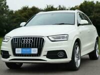 2014 Audi Q3 2.0 TDI S line Plus quattro 5dr SUV Diesel Manual