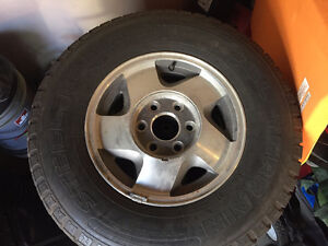 Chevy Z71 rims and tires