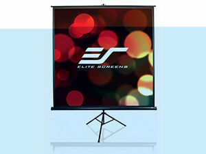 Elite Screens Tripod, 72-inch,Pull Up Projection Screen $350.00