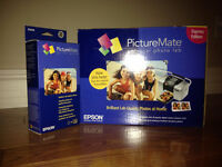 Epson PictureMate Personal Photo Lab kit + refills (NEW)