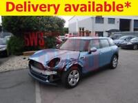 2017 Mini Clubman One D 1.5 DAMAGED REPAIRABLE SALVAGE