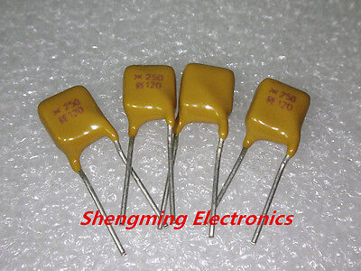 10pcs Trf250-120 250v 0.12a Rf120 120ma Pptc Polyswitch Resettable Fuse