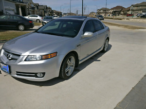 2007 Acura TL (Safetied) low km, clean title