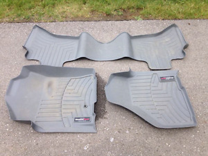 Weather tech car mats, used in 2010 dodge ram 1500