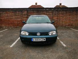 2003 Volkswagen Golf 1.9L GT TDI