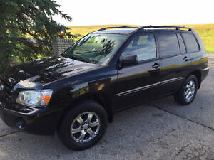 2004 Toyota Highlander Limited 7 Passenger Heated Leather