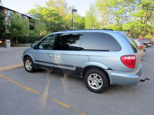 Need A Work Van?  Dodge Caravan Sport Minivan