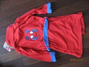 Brand with tag , new boys  sz3 Spiderman robe