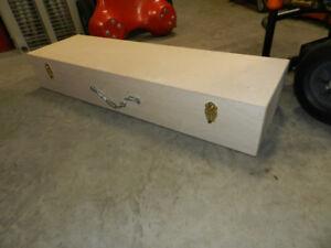 Custom made longboard and storage case