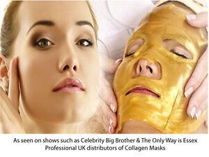 Premium-Collagen-Crystal-Face-Masks-Anti-Ageing-Skin-Care-Gold-White-FREE-POST
