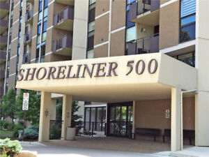 2 Bedroom Condo Right on Lake Ontario, Water view.