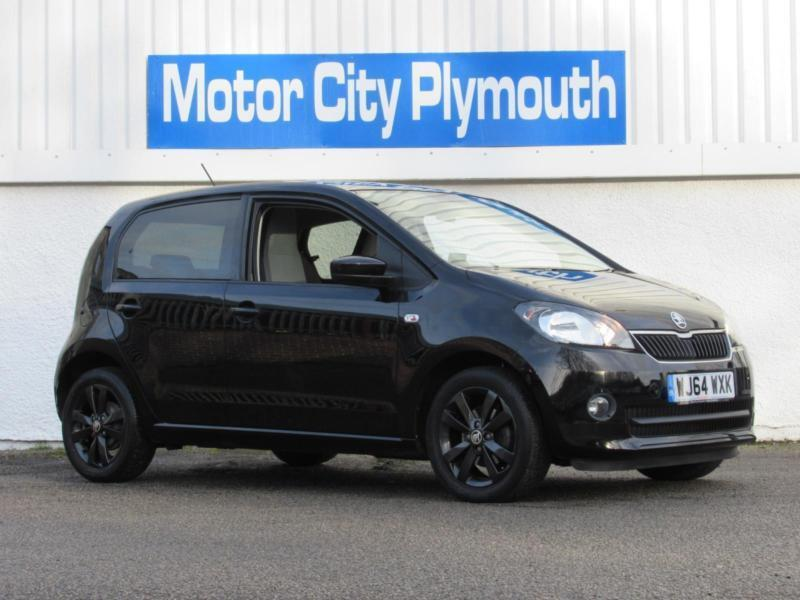 2014 skoda citigo black edition hatchback petrol in plymouth devon gumtree. Black Bedroom Furniture Sets. Home Design Ideas