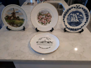 Various decorative plates