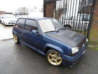 RENAULT 5 1.4 TURBO GT 3DR RARE IMPORT FORGED ENGINE £££ SPENT ON ENGINE