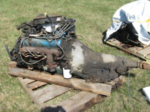 Engines, various sizes, Oldsmobile and Chevy