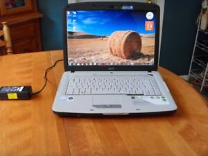 """15.4"""" Acer 5715Z Dual Core (HDD-250 GIG) (RAM- 3 GIGS)"""