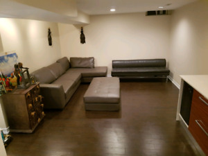 BACHELOR basement apartment for rent