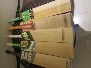 Cricket Bats for sale $60 each bat