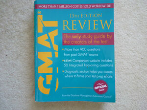 GMAT Review Book