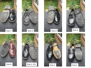 Boy's Dress Shoes - various sizes (8 pairs)