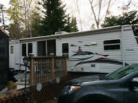 36' DUTCHMEN CLASSIC PARK MODEL AND LEASED SITE (2015 FEES PAID)