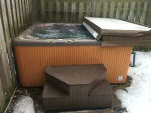 Beachcomber hot tub   7/8 person