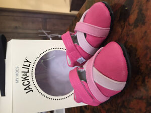 Jack and Lily sandal style baby shoes