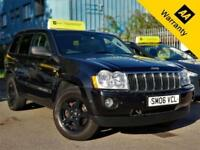 2006 JEEP GRAND CHEROKEE 3.0 V6 CRD LIMITED 215 BHP+AUTO+LEATHER+SUNROOF+1OWNER