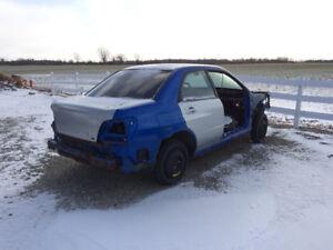 2003 Subaru Impreza WRX Sedan Parts Car