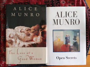 Alice Munroe books - hardcover $5 each or both for $8