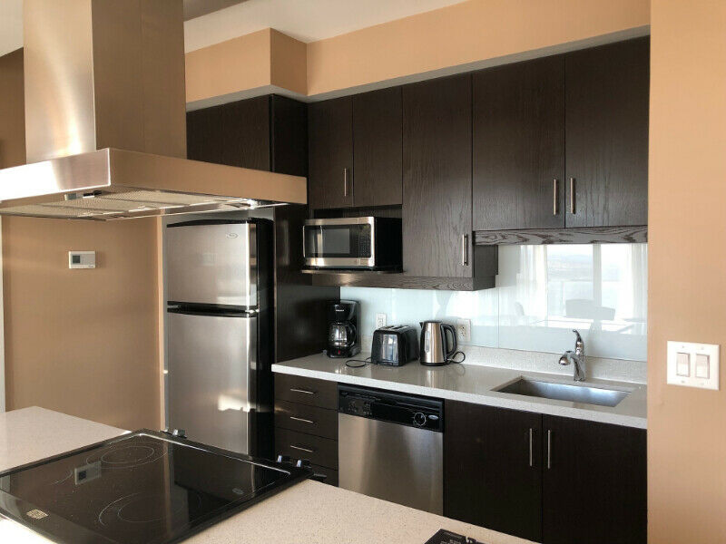Furnished 2 Bedroom Condo Apartment Square One - Monthly ...