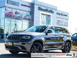 2016 Jeep Grand Cherokee Overland High Altitude, Only 22,400 KMS