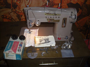 Singer 328J Sewing Machine, with Desk