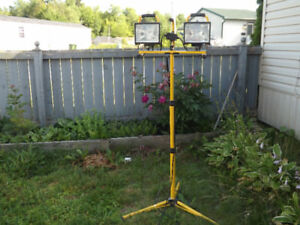Work Lights on Stand $ 30.00