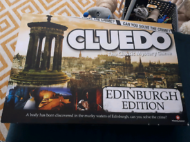 Board game Cluedo Edinburgh edition
