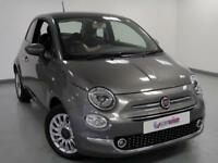 2017 Fiat 500 1.2 Lounge 3dr Petrol grey Manual