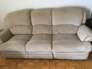Comfortable reclining couch for sale