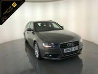 2014 AUDI A4 TECHNIK TDI DIESEL ESTATE 175 BHP 1 OWNER SERVICE HISTORY FINANCE