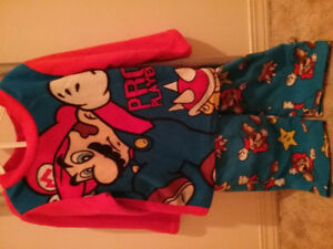 Super Mario pajama set