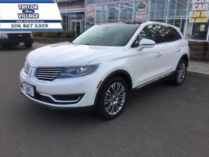 2016 Lincoln MKX Reserve  - $305.78 B/W