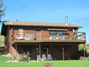 Crooked Lake Log Home for Sale Regina Regina Area image 1