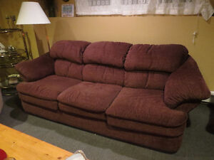 Chesterfield, Love seat, Recliner, 2 End Tables, St. John's Newfoundland image 1
