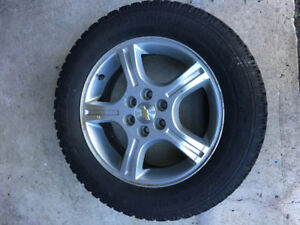 4 Winter Tires P225/60R17 with Alloy Rim