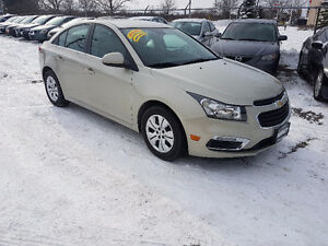 2015 Chevrolet Cruze LT Certified Factory warranty