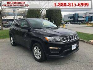 2017 Jeep Compass Sport  - Cruise Control -  Chrome Trim