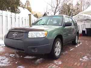 2007 Subaru Forester Special Edition 4x4